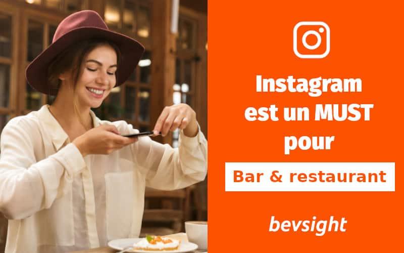 Instagram est un must pour les restaurants